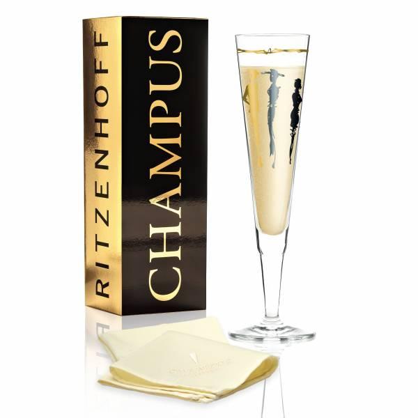 Champus Champagnerglas von Esser'Design (Vernissage)