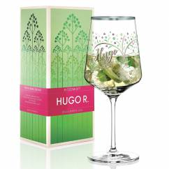 Hugo R. Aperitif Glass by Shinobu Ito
