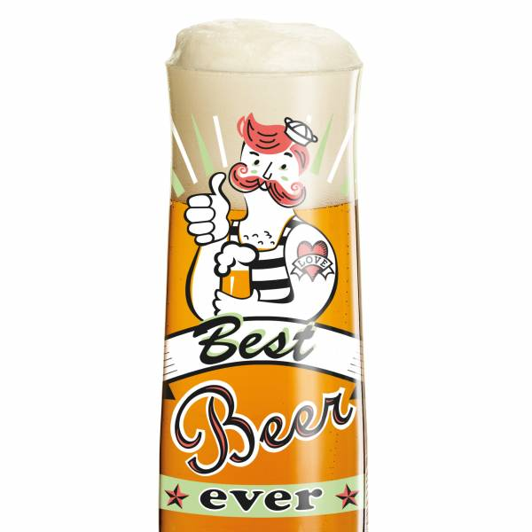 Beer Bierglas von Michal Shalev