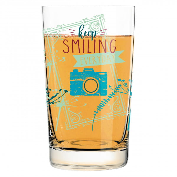 Everyday Darling soft drink glass by Claudia Schultes