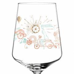 Aperizzo Aperitif Glass by Natalia Yablunovska