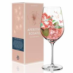 Aperitivo Rosato Aperitif Glass by Michaela Koch