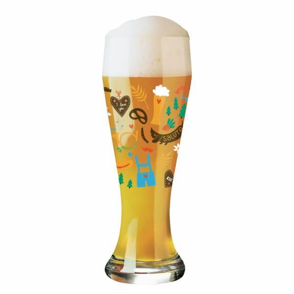 Wheat wheat beer glass by Izabella Markiewicz