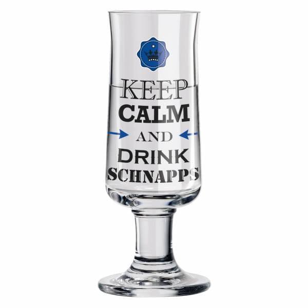 Schnapps shot glass by Gabriel Weirich