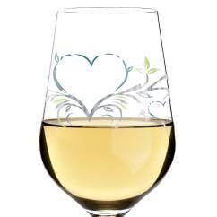 White Weißweinglas von Kurz Kurz Design