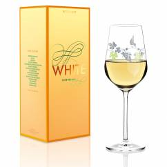 White white wine glass from Concetta Lorenzo