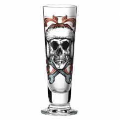 Black Label shot glass from Medusa Dollmaker
