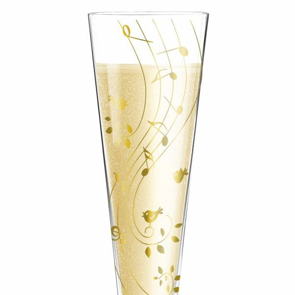 Champus Champagne Glass by Sibylle Mayer