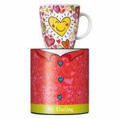 My Darling coffee mug by Stephanie Roehe