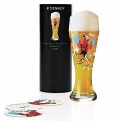Weizen Wheat beer glass by Nils Kunath