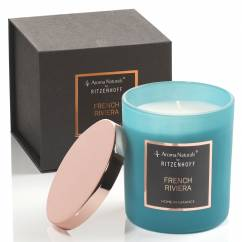 Selection scented candle, French Riviera (H: 9 cm, ø 8 cm)