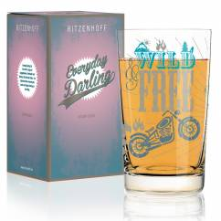 Everyday Darling Softdrinkglas von Petra Mohr (Be free)