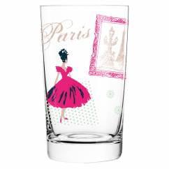 Everyday Darling soft drink glass by Alice Wilson