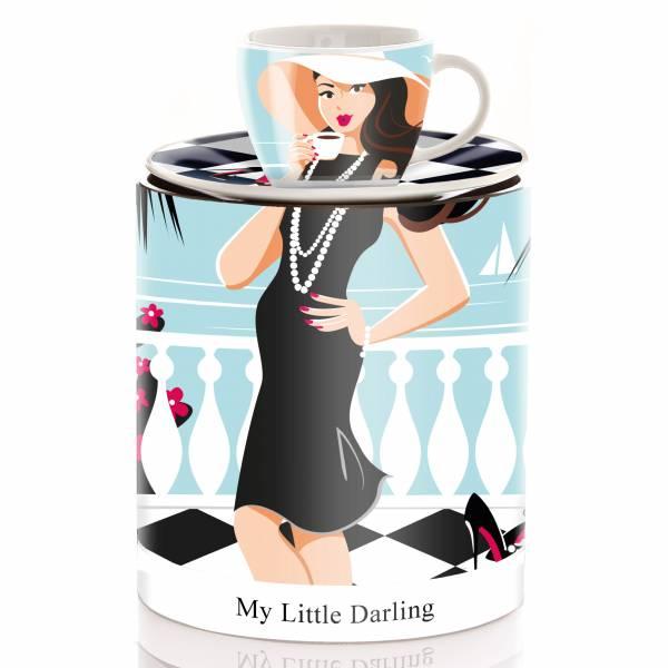 My Little Darling Espressotasse von Astrid Müller