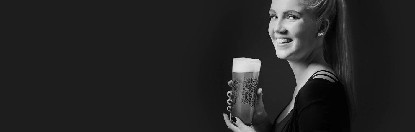 Wheat Beer – Modern wheat beer glass