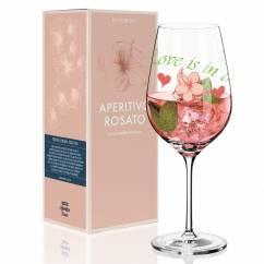 Aperitivo Rosato Aperitif Glass by Anissa Mendil