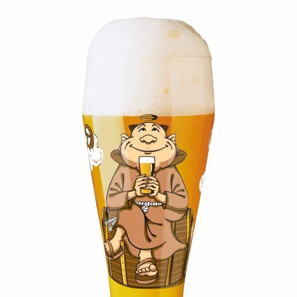 Weizen Wheat beer glass by Kathrin Stockebrand