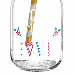 Make It Take It smoothie glass by Michaela Koch