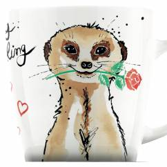 My Darling coffee mug by Michaela Koch