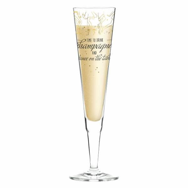 Champus Champagnerglas von Natalia Yablunovska
