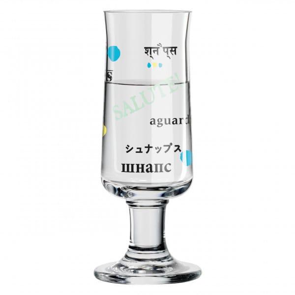 Schnapps Schnapsglas von Poonam Choudhry