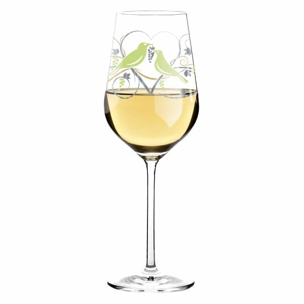 White Weißweinglas von Anissa Mendil