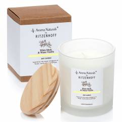 Nature scented candle, White Musk (H: 10 cm, ø 8 cm)