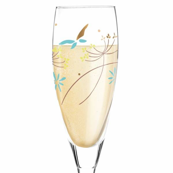 Pearls Edition Prosecco Glass by Dominique Tage