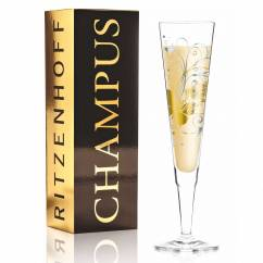 Champus Champagne Glass by Claudia Schultes