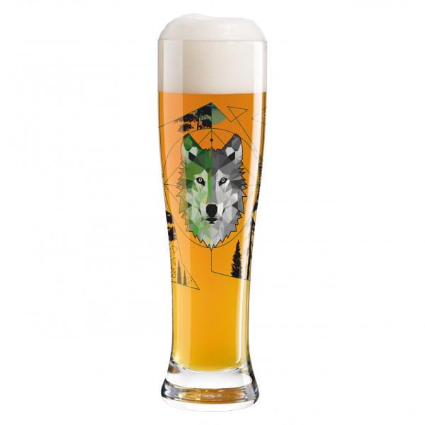 Freibier-Duett Wheat Beer Glass Set by Sonja Eikler (Wolfster & Foxster)