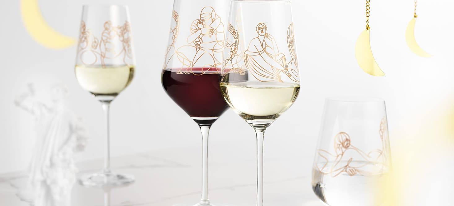 Wein-Ensemble – Wein- & Wassergläser