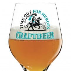 Craft Beer Bierglas von Steven Flier