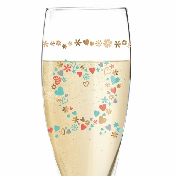 Pearls Edition Prosecco Glass by Kathrin Stockebrand (Airplane)
