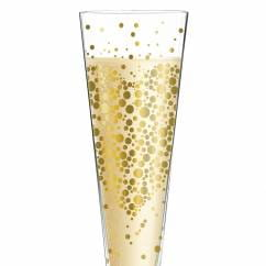Champus Champagne Glass by Daniela Melazzi