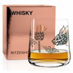 WHISKY Whisky Glass by Olaf Hajek (Guardian Thistle)