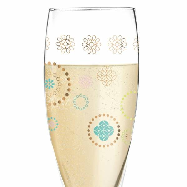 Pearls Edition Prosecco Glass by Helena Ladeiro