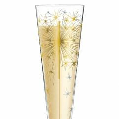 Champus Champagne Glass by Petra Mohr