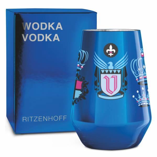 VODKA Vodkaglas von Peter Horridge
