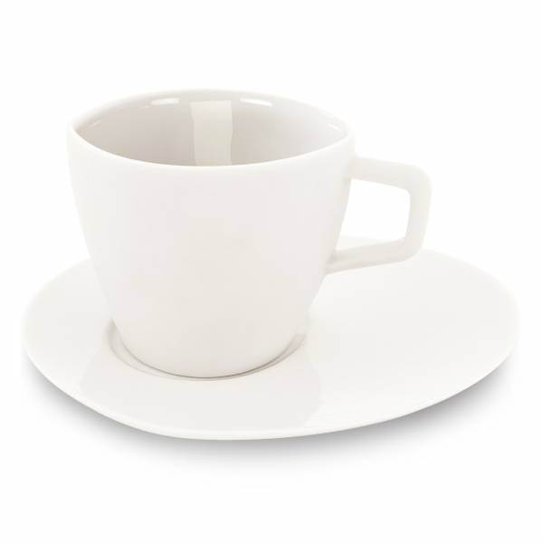 Koi espresso set, white by Cheng-yu Lu