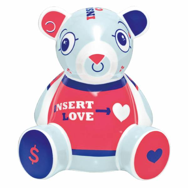 Teddy Bank Money Box Bear by Beppe del Greco