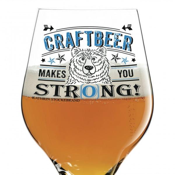 Craft Beer Bierglas von Kathrin Stockebrand