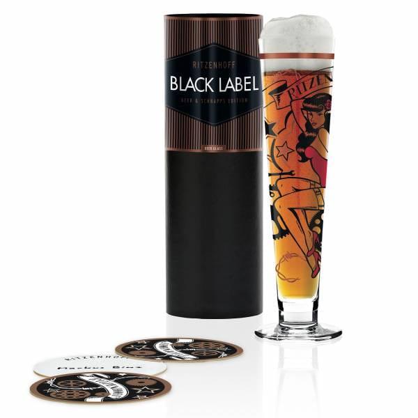 Black Label Bierglas von Markus Binz