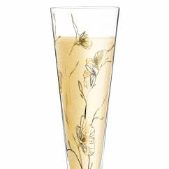 Champus Champagne Glass by Marvin Benzoni (Windflowers)
