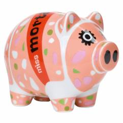 Mini Piggy Bank Set of 3 by Ulrike Vater
