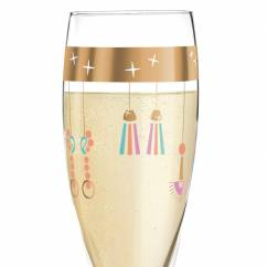 Pearls Edition Proseccoglas von Willian Farias