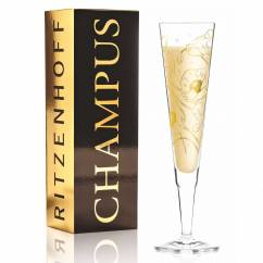Champus Champagnerglas von Shari Warren