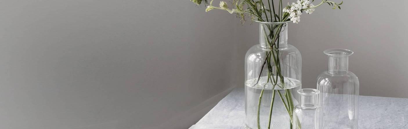 Vases - wafer-thin cylinder vases
