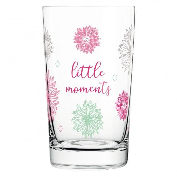 Everyday Darling soft drink glass by Lenka Kühnertová