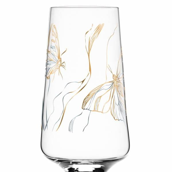 Prosecco Glass by Marvin Benzoni (Monarch Couple)