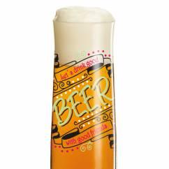 Beer beer glass by Dorothee Kupitz